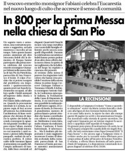 2008 Prima Messa