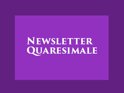 NewsletterQuaresimale
