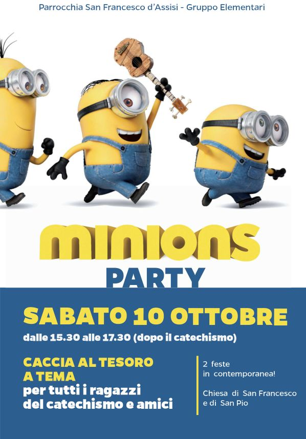 MinionsParty_Locandina