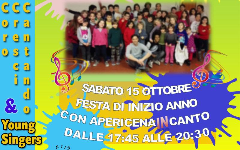 Festa Inizio Anno – Coro Cresci Cantando & Young Singers