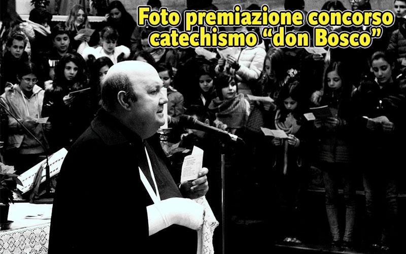 Foto Vincitori ed Elaborati festa di don Bosco Catechismo 2017