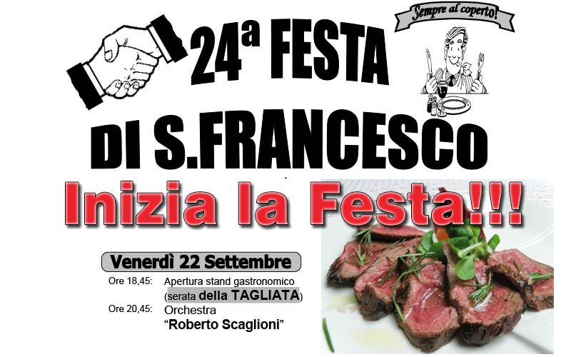 Programma ricreativo della festa di S. Francesco 2017