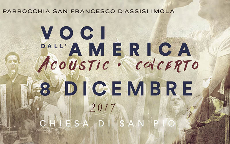 """Concerto """"Voci dall'America"""""""
