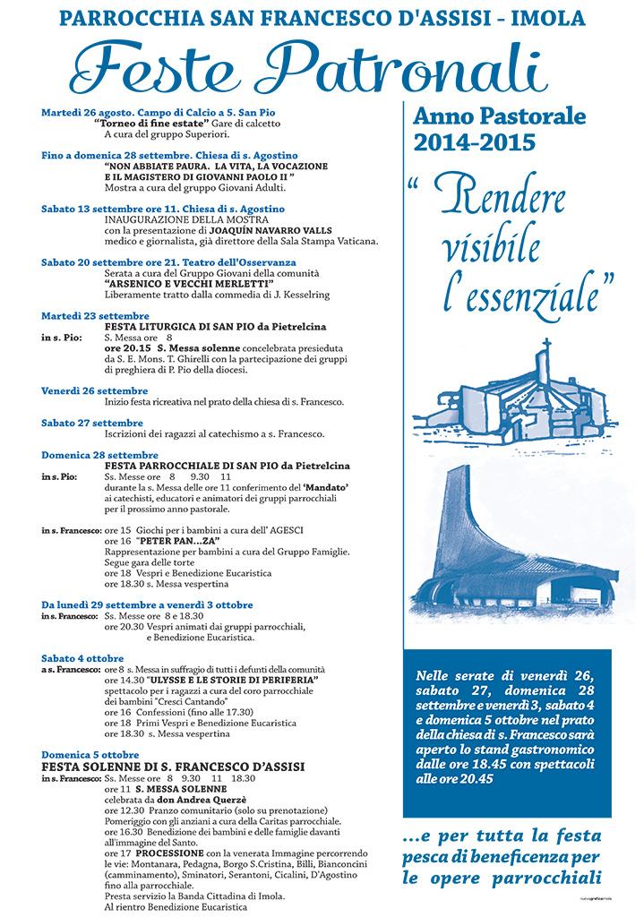 Manifesto 70_100 san francesco 2014 copia