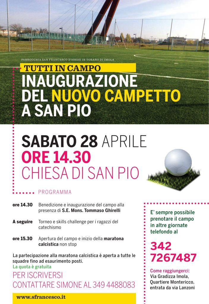 Inaugurazione campetto da calcio a 5