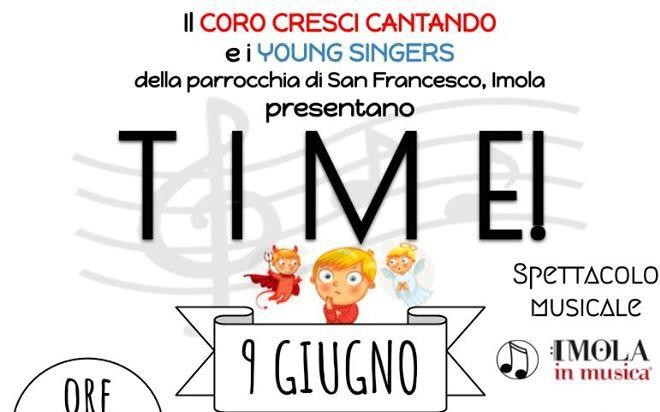 """Time"" – Spettacolo musicale"